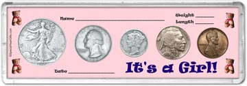 1937 It's A Girl! Coin Gift Set THUMBNAIL