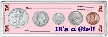 1938 It's A Girl! Coin Gift Set THUMBNAIL