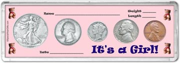 1939 It's A Girl! Coin Gift Set THUMBNAIL