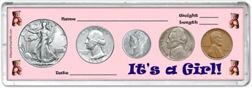 1940 It's A Girl! Coin Gift Set THUMBNAIL