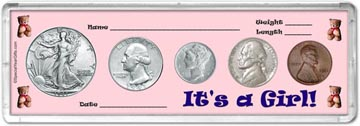 1941 It's A Girl! Coin Gift Set THUMBNAIL