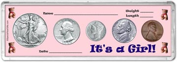 1942 It's A Girl! Coin Gift Set THUMBNAIL