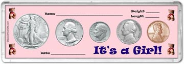 1946 It's A Girl! Coin Gift Set THUMBNAIL