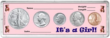 1947 It's A Girl! Coin Gift Set THUMBNAIL