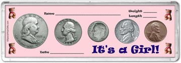 1953 It's A Girl! Coin Gift Set THUMBNAIL