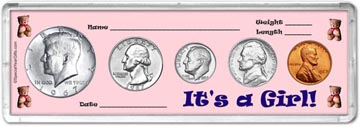 1967 It's A Girl! Coin Gift Set THUMBNAIL