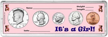 1979 It's A Girl! Coin Gift Set THUMBNAIL