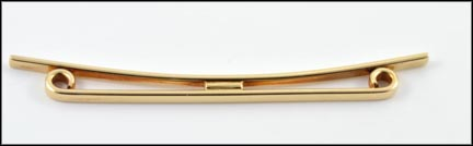 Tiffany Collar Bar in 14K Yellow Gold
