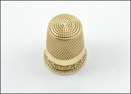 Thimble in 10K Yellow Gold LARGE