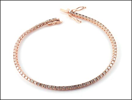 Levian Diamond Bracelet in 14K Rose Gold_LARGE