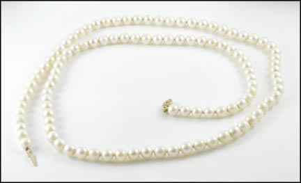 Pearl Strand in 14K Yellow Gold LARGE