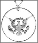 Kennedy Half Presidential Seal, with rim