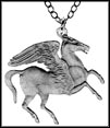 Pegasus (Greece), large, without rim