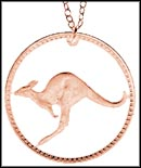 Kangaroo (Australia), large, with rim