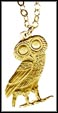 Ancient Owl (Greece), without rim