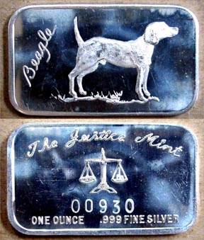 Beagle' Art Bar by Justice Mint. MAIN
