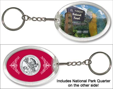 El Yunque National Forest Keychain