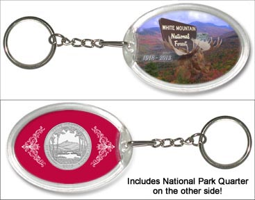White Mountain National Forest Keychain