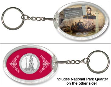 Perry's Victory and International Peace Memorial Keychain