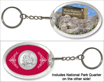 Mount Rushmore National Memorial Keychain