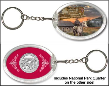 Theodore Roosevelt National Park Keychain