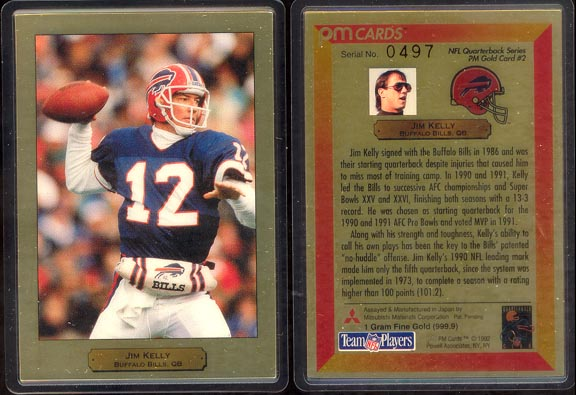 Jim Kelly; 1 g 999.9 Gold