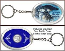'Sea Turtle' Keychain