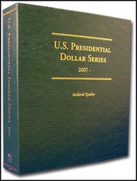 Littleton U.S. Presidential Dollar Series Album