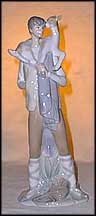 Boy With Goat, Lladro Figurine  #4506