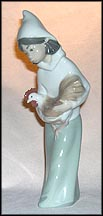Girl With Rooster, Lladro Figurine  #4677