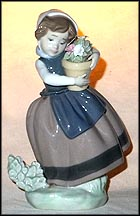 Spring is Here, Lladro Figurine  #5223 MAIN