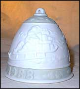 1988 Christmas Bell, Lladro Christmas Bell  #5525M MAIN