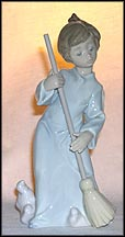 Sweep Away the Clouds, Lladro Figurine  #5726 MAIN
