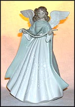 Angel Tree Topper (green), Lladro Tree Topper  #5875