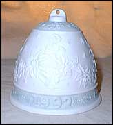 1992 Christmas Bell, Lladro Christmas Bell  #5913M MAIN