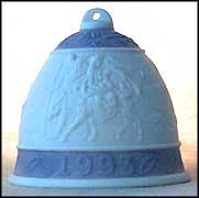 1993 Christmas Bell, Lladro Christmas Bell  #6010M