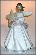 Angel Of The Stars, Lladro Tree Topper  #6132 MAIN