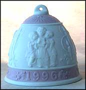 1996 Christmas Bell, Lladro Christmas Bell  #6297M