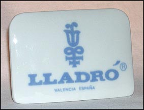 Small Lladro Plaque  #7116