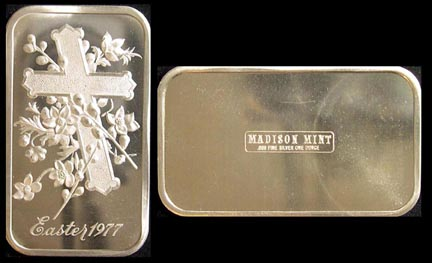 Easter 1977' Art Bar by Madison Mint.