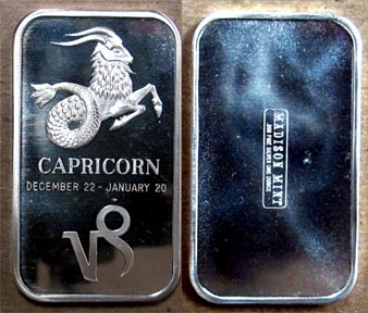Capricorn' Art Bar by Madison Mint.