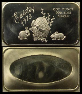 Easter 1973' Art Bar by Madison Mint. MAIN