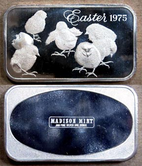 Easter 1975' Art Bar by Madison Mint. MAIN