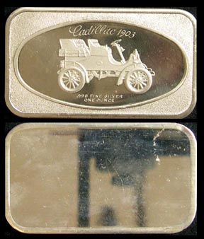 Cadillac 1903' Art Bar by Madison Mint.