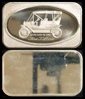 Ford Tin Lizzie' Art Bar by Madison Mint. MAIN