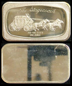 Stagecoach' Art Bar by Madison Mint.