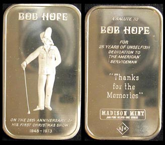Bob Hope' Art Bar by Madison Mint.