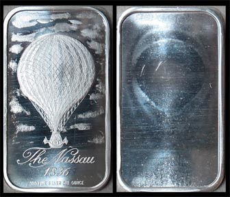 Nassau 1836 Balloon' Art Bar by Madison Mint. MAIN
