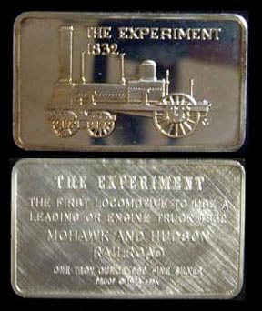 Locomotive - The Experiment 1832' Art Bar by Mount Everest Mint.