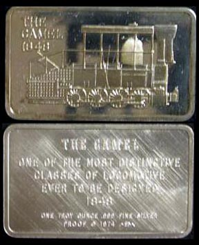 Locomotive - The Camel 1848' Art Bar by Mount Everest Mint. MAIN